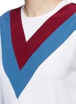 'Alida' football stripe cady top