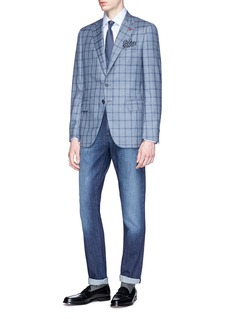 ISAIA Washed jeans