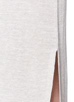 'Dantine' wrap waist marled knit dress