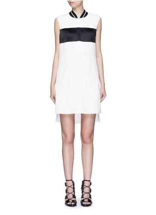 Main View - Click To Enlarge - rag & bone - 'Nico' satin sport stripe silk dress