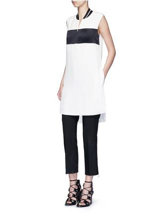 Figure View - Click To Enlarge - rag & bone - 'Nico' satin sport stripe silk dress