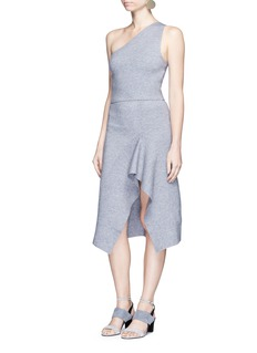 C/Meo Collective  'Break Free' asymmetric godet knit skirt