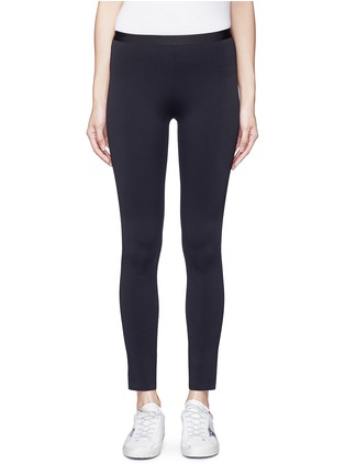 Main View - Click To Enlarge - Helmut Lang - 'Scuba' leggings