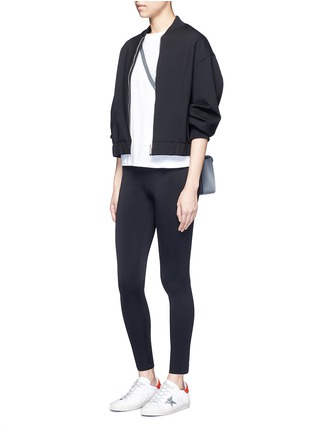 Figure View - Click To Enlarge - Helmut Lang - 'Scuba' leggings