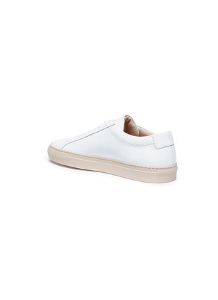 Detail View - Click To Enlarge - Common Projects - 'Achilles Low' leather sneakers