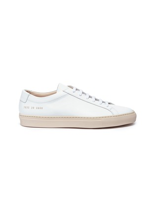 Main View - Click To Enlarge - Common Projects - 'Achilles Low' leather sneakers