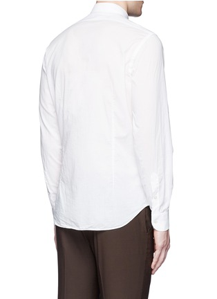 Back View - Click To Enlarge - Boglioli - Italian collar cotton shirt