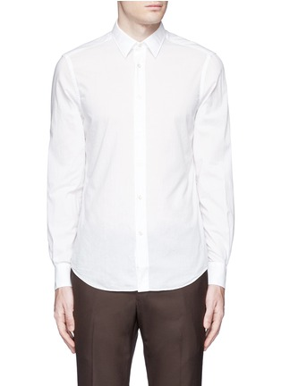 Main View - Click To Enlarge - Boglioli - Italian collar cotton shirt