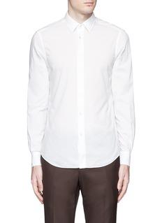 BoglioliItalian collar cotton shirt