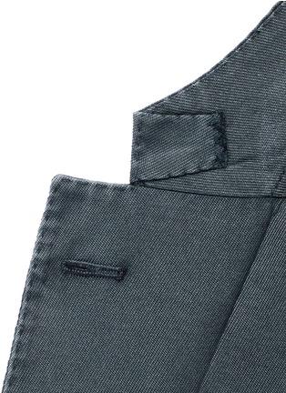 Detail View - Click To Enlarge - Boglioli - 'K-Jacket' wool twill soft blazer