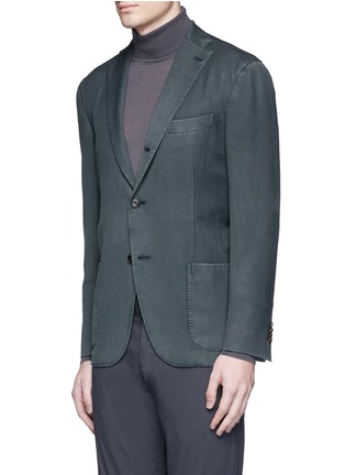 Front View - Click To Enlarge - Boglioli - 'K-Jacket' wool twill soft blazer