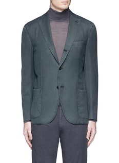 Boglioli 'K-Jacket' wool twill soft blazer