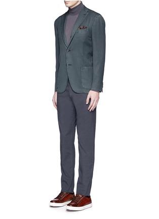 Figure View - Click To Enlarge - Boglioli - 'K-Jacket' wool twill soft blazer