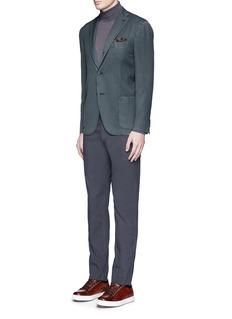 Boglioli'K-Jacket' wool twill soft blazer
