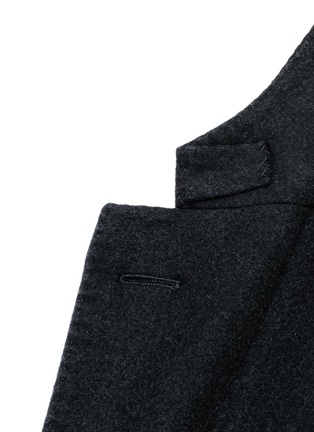 Detail View - Click To Enlarge - Boglioli - 'K-Jacket' wool flannel soft blazer
