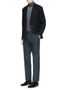 Boglioli'K-Jacket' wool flannel soft blazer