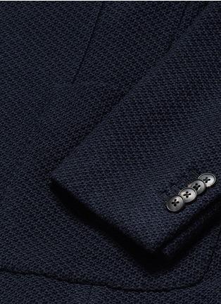 - Boglioli - 'Casati' textured wool knit soft blazer