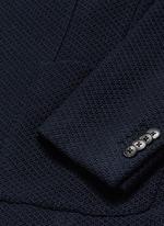 'Casati' textured wool knit soft blazer