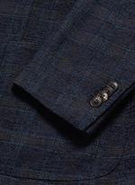 'K-Jacket' check bouclé soft blazer