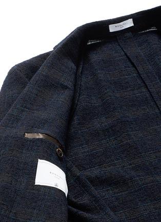 Boglioli-'K-Jacket' check bouclé soft blazer