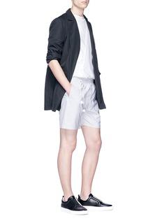 SIKI IM / DEN IM Stripe woven shorts