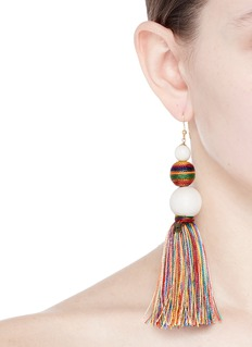Rosantica 'Arlecchino' beaded tassel drop earrings