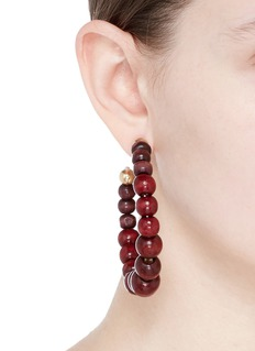 Rosantica 'Inganno' beaded hoop earrings