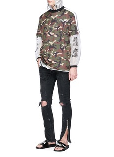 Palm Angels Slim fit ripped jeans