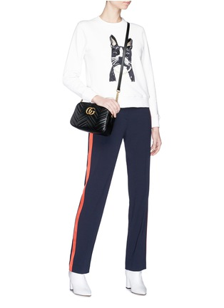 Figure View - Click To Enlarge - Alex Foster x Lane Crawford - Frenchie embroidered sweatshirt