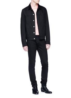 Calvin Klein 205W39NYC 女郎徽章纯棉polo衫