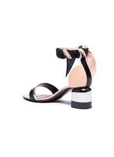 Pierre Hardy 'Sweet Memphis' colourblock ankle strap leather sandals