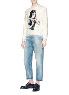 Gucci Sequin Snow White wool sweater