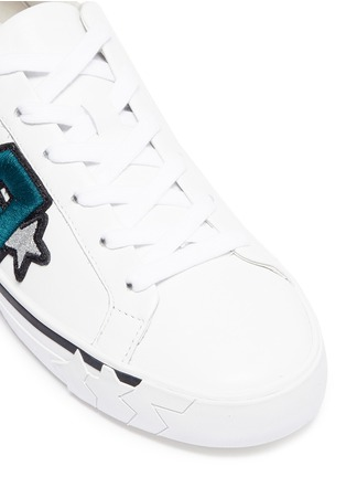 Detail View - Click To Enlarge - Ash - 'Next' logo patch leather sneakers