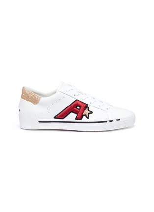 Main View - Click To Enlarge - Ash - 'Next' logo patch leather sneakers