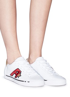 Ash 'Next' logo patch leather sneakers