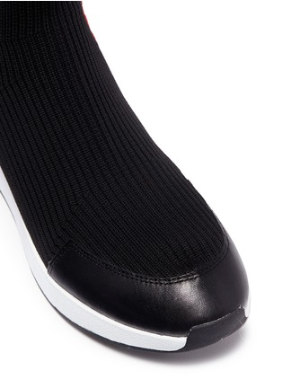 Detail View - Click To Enlarge - Ash - 'Jango' star stripe high top sock knit sneakers