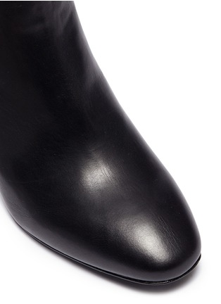 Detail View - Click To Enlarge - Ash - 'Harlem' mirror heel leather ankle boots