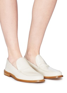 Alumnae Leather step-in loafers