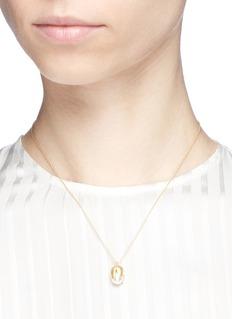 Belinda Chang 'Flora' freshwater pearl pendant necklace