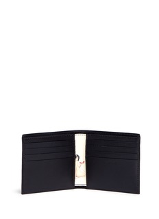 Paul Smith 'Classic Naked Lady' print leather bifold wallet
