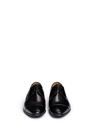 Front View - Click To Enlarge - Paul Smith - 'Robin' spazzolato leather Derbies