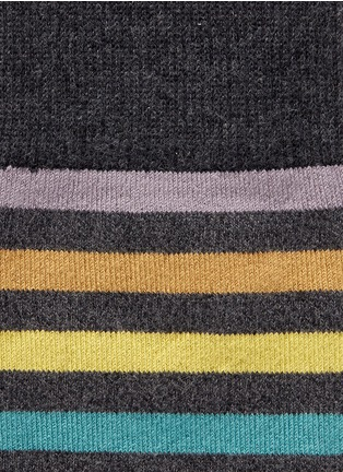 Detail View - Click To Enlarge - Paul Smith - Stripe socks
