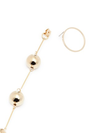 Detail View - Click To Enlarge - ViaTORY - 'Cherry Vall' sphere link drop earrings