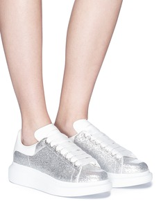 Alexander McQueen 'Larry' chunky outsole glitter sneakers