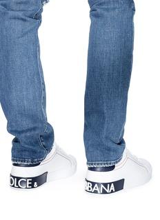 Dolce & Gabbana 'Portofino' calfskin leather sneakers