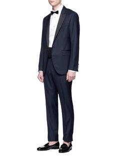 Dolce & Gabbana Piqué bib tuxedo shirt