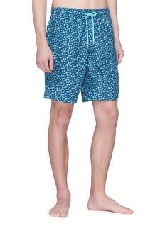 Vilebrequin 'Okoa' micro turtle print swim shorts