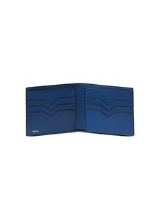 Valextra Leather bifold wallet –Royal Blue