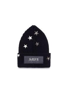 SMFK Star embellished beanie