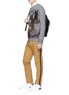 Dolce & Gabbana Stripe outseam twill pants